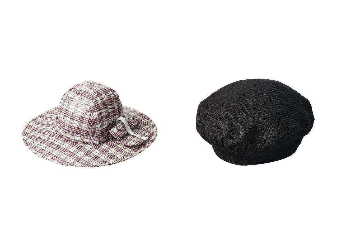 【MAISON SPECIAL/メゾンスペシャル】の【La Maison de Lyllis】LINEN STONCH ベレー帽&【La Maison de Lyllis】DROW ハット メゾンスペシャルのおすすめ!人気、トレンド・レディースファッションの通販  おすすめで人気の流行・トレンド、ファッションの通販商品 メンズファッション・キッズファッション・インテリア・家具・レディースファッション・服の通販 founy(ファニー) https://founy.com/ ファッション Fashion レディースファッション WOMEN 2021年 2021 2021 春夏 S/S SS Spring/Summer 2021 S/S 春夏 SS Spring/Summer アウトドア コンパクト チェック ポケット リネン 春 Spring |ID:crp329100000021143