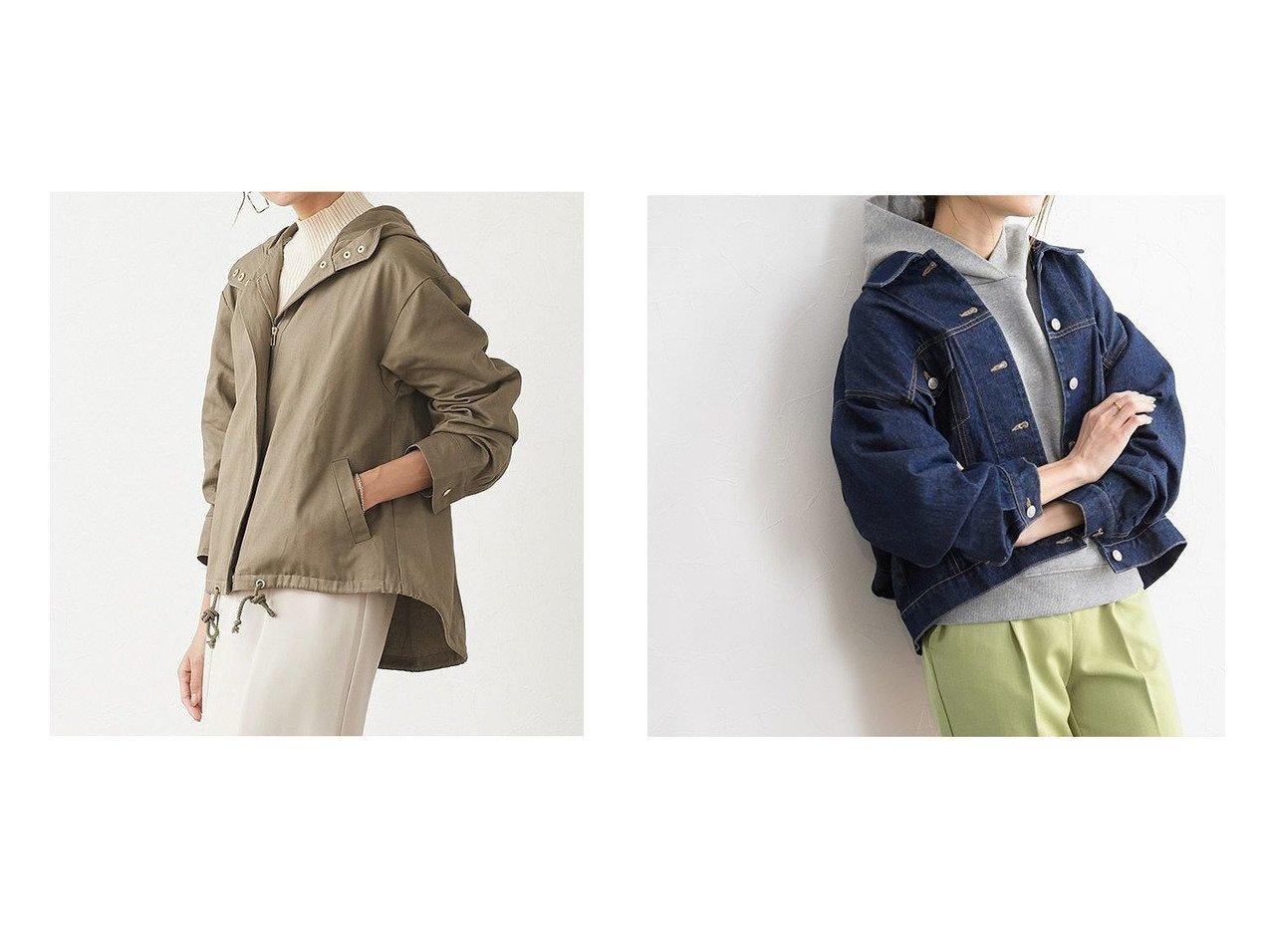 【Pierrot/ピエロ】のマウンテンパーカー&オーバーサイズデニムジャケット おすすめ!人気!プチプライスで上品なファッションアイテムの通販  おすすめで人気の流行・トレンド、ファッションの通販商品 メンズファッション・キッズファッション・インテリア・家具・レディースファッション・服の通販 founy(ファニー) https://founy.com/ ファッション Fashion レディースファッション WOMEN アウター Coat Outerwear ジャケット Jackets デニムジャケット Denim Jackets デニム トレンド プチプライス・低価格 Affordable |ID:crp329100000021191