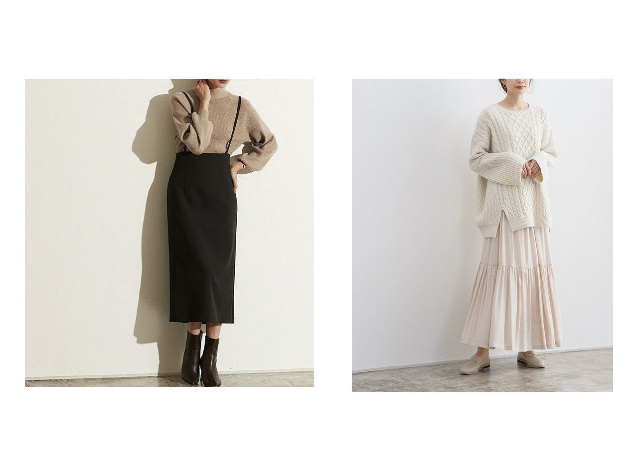 【Pierrot/ピエロ】のショルダーストラップサロペットスカート MD&ギャザー切り替えロングスカート MD おすすめ!人気!プチプライスで上品なファッションアイテムの通販  おすすめで人気の流行・トレンド、ファッションの通販商品 メンズファッション・キッズファッション・インテリア・家具・レディースファッション・服の通販 founy(ファニー) https://founy.com/ ファッション Fashion レディースファッション WOMEN スカート Skirt ロングスカート Long Skirt ジョーゼット スリット プチプライス・低価格 Affordable ラップ ギャザー シューズ フレア ロング |ID:crp329100000021230