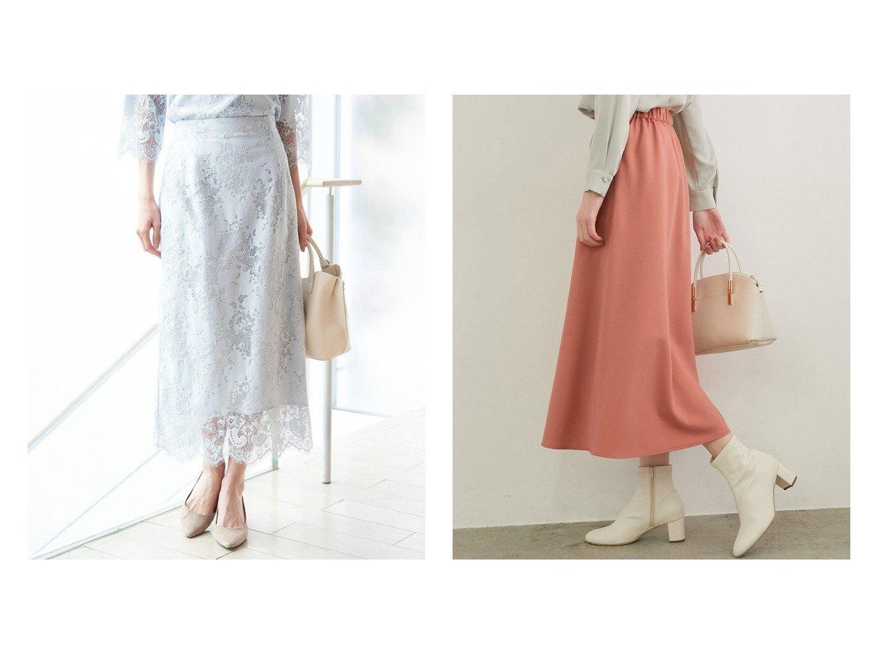【ROPE' PICNIC/ロペピクニック】のプレミアムフィール ミドル丈スカート&【セットアップ対応】ラッセルレーススカート ロペピクニックのおすすめ!人気、トレンド・レディースファッションの通販 おすすめで人気の流行・トレンド、ファッションの通販商品 メンズファッション・キッズファッション・インテリア・家具・レディースファッション・服の通販 founy(ファニー) https://founy.com/ ファッション Fashion レディースファッション WOMEN スカート Skirt セットアップ Setup スカート Skirt 春 Spring 秋 Autumn/Fall ガーリー シューズ シンプル ジャケット タイツ トレンド バレエ ポケット ミドル 冬 Winter NEW・新作・新着・新入荷 New Arrivals おすすめ Recommend インナー スウィート スカラップ セットアップ タイトスカート フォーマル ラッセル レース |ID:crp329100000021511