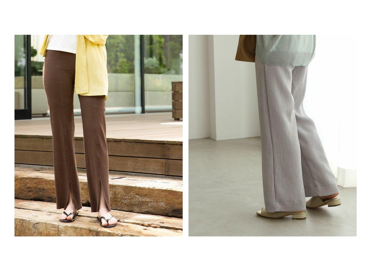 【marjour/マージュール】のmarjourフロントスリットパンツ FRONT SLIT PANTS&marjourリラックスサマーパンツ RELAX SUMMER PANTS マージュールのおすすめ!人気、トレンド・レディースファッションの通販 おすすめで人気の流行・トレンド、ファッションの通販商品 メンズファッション・キッズファッション・インテリア・家具・レディースファッション・服の通販 founy(ファニー) https://founy.com/ ファッション Fashion レディースファッション WOMEN パンツ Pants アンクル アンダー 春 Spring サマー サンダル ショート ジップ スウェット スタイリッシュ ストレート スリット バランス フィット フレア フロント ベスト 楽ちん ワイド A/W 秋冬 AW Autumn/Winter / FW Fall-Winter S/S 春夏 SS Spring/Summer おすすめ Recommend ストレッチ ベーシック リラックス 無地 |ID:crp329100000021532