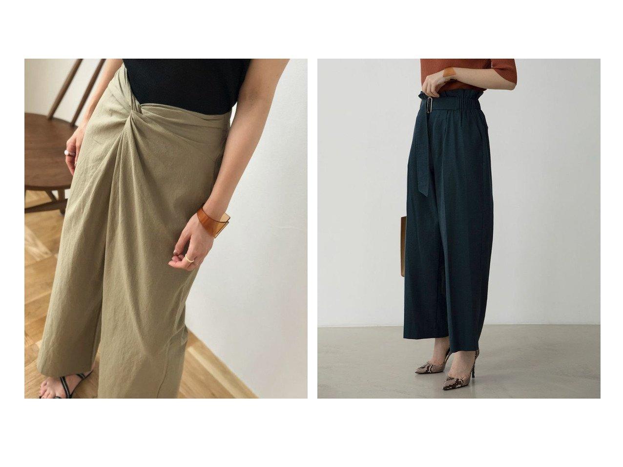 【marjour/マージュール】のmarjourフロントツイストパンツ FRONT TWIST PANTS&marjourリネンブレンドハイウエストパンツ LINEN BLEND HIGH WEAST PANTS マージュールのおすすめ!人気、トレンド・レディースファッションの通販 おすすめで人気の流行・トレンド、ファッションの通販商品 メンズファッション・キッズファッション・インテリア・家具・レディースファッション・服の通販 founy(ファニー) https://founy.com/ ファッション Fashion レディースファッション WOMEN パンツ Pants ツイスト リラックス ワイド 楽ちん ジップ セットアップ フィット ベスト リネン ルーズ レギンス 秋 Autumn/Fall |ID:crp329100000021535