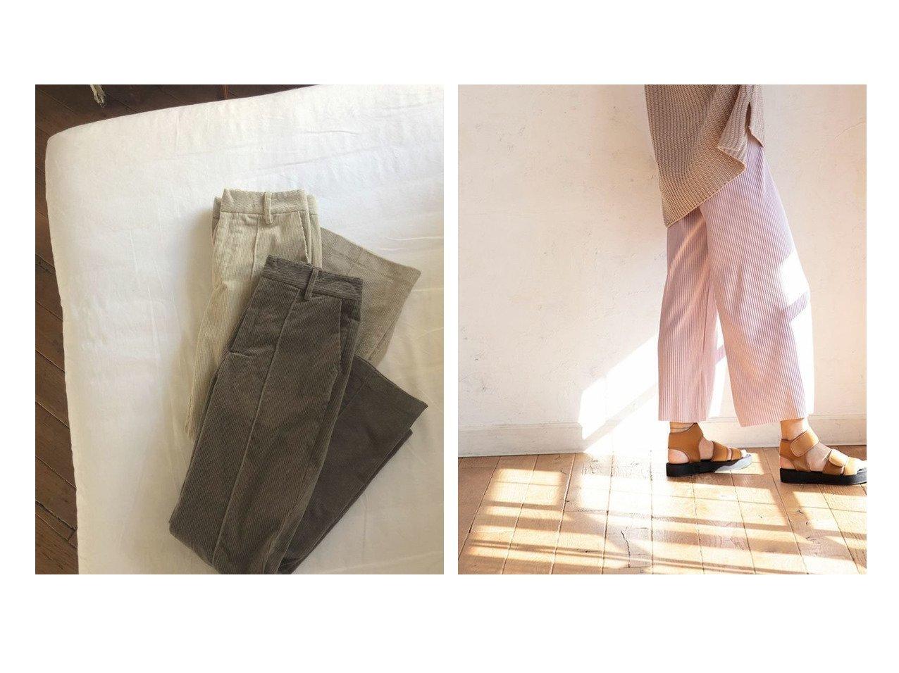 【marjour/マージュール】のストレッチコーデュロイパンツ STRETCH CORDED PANTS&リラックスコーデュロイパンツ RELAX CORDUROY PANTS マージュールのおすすめ!人気、トレンド・レディースファッションの通販 おすすめで人気の流行・トレンド、ファッションの通販商品 メンズファッション・キッズファッション・インテリア・家具・レディースファッション・服の通販 founy(ファニー) https://founy.com/ ファッション Fashion レディースファッション WOMEN パンツ Pants コーデュロイ サンダル ストレッチ センター フィット フレア ルーズ ワイド 冬 Winter 春 Spring |ID:crp329100000021540