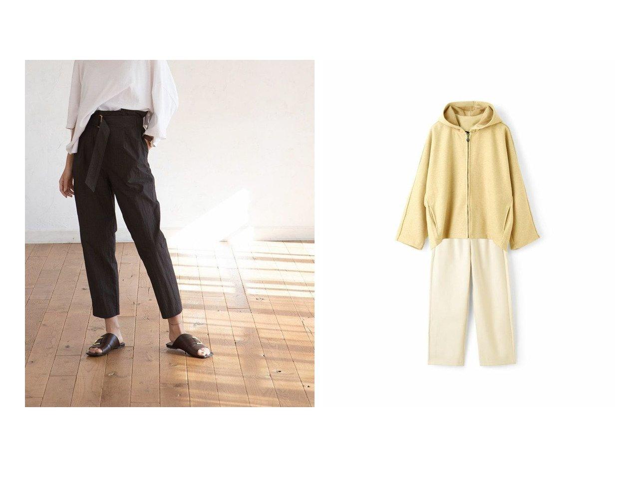 【marjour/マージュール】のフードドルマンジャケット&パンツセット HOODED DOLMAN JACKET & TUCK PANTS SET&ウォッシャーベルトパンツ WASHER BELT PANTS マージュールのおすすめ!人気、トレンド・レディースファッションの通販 おすすめで人気の流行・トレンド、ファッションの通販商品 メンズファッション・キッズファッション・インテリア・家具・レディースファッション・服の通販 founy(ファニー) https://founy.com/ ファッション Fashion レディースファッション WOMEN パンツ Pants ベルト Belts アウター Coat Outerwear ジャケット Jackets セットアップ Setup パンツ Pants ダウン ワッシャー カットソー ショルダー ジャケット スウェット ドロップ バランス マニッシュ ルーズ ロング おすすめ Recommend |ID:crp329100000021541