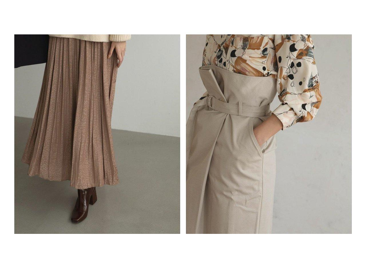 【marjour/マージュール】のレオパードスカート LEOPARD SKIRT&marjourハイウエストラップスカート HIGHWEAST WRAP SKIRT マージュールのおすすめ!人気、トレンド・レディースファッションの通販 おすすめで人気の流行・トレンド、ファッションの通販商品 メンズファッション・キッズファッション・インテリア・家具・レディースファッション・服の通販 founy(ファニー) https://founy.com/ ファッション Fashion レディースファッション WOMEN スカート Skirt シューズ ショート スウェット スニーカー タイツ ヒョウ フラット プリーツ モノトーン レオパード おすすめ Recommend 春 Spring 秋 Autumn/Fall カットソー サンダル スリット タイトスカート トレンド ノースリーブ 長袖 冬 Winter  ID:crp329100000021542