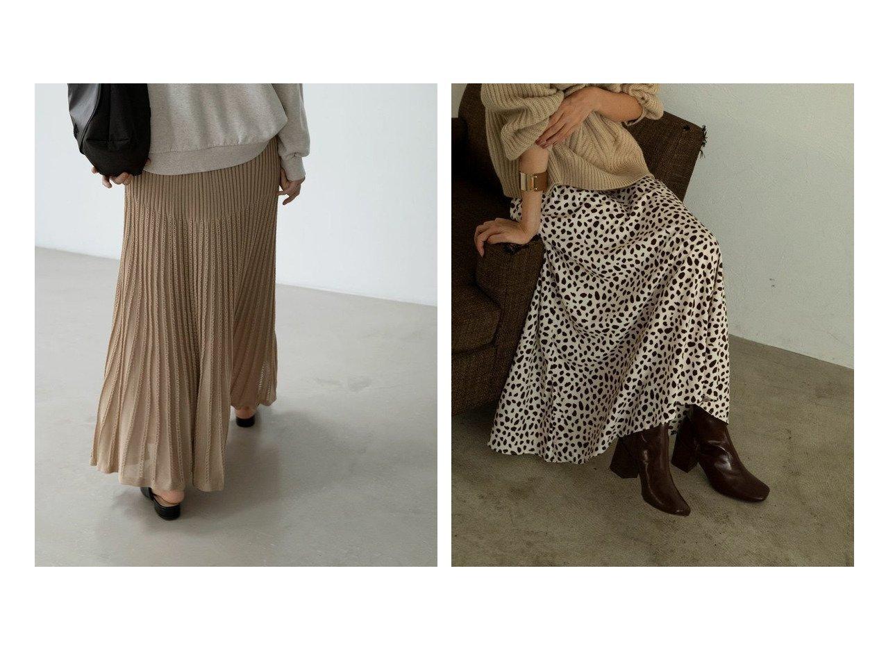 【marjour/マージュール】のmarjourニットスカート KNIT SKIRT&ダルメシアンスカート DALMATIAN SKIRT マージュールのおすすめ!人気、トレンド・レディースファッションの通販 おすすめで人気の流行・トレンド、ファッションの通販商品 メンズファッション・キッズファッション・インテリア・家具・レディースファッション・服の通販 founy(ファニー) https://founy.com/ ファッション Fashion レディースファッション WOMEN スカート Skirt おすすめ Recommend フィット フレア ロング 楽ちん 秋 Autumn/Fall ショート ジャケット スニーカー タイツ バランス プリント マーメイド モノトーン 無地 冬 Winter  ID:crp329100000021543