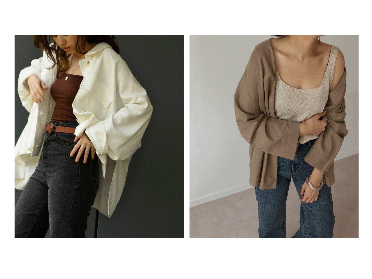 【marjour/マージュール】のmarjourシャツジャケット SHIRTS JACKET&marjourコットンジャケット COTTON JACKET マージュールのおすすめ!人気、トレンド・レディースファッションの通販 おすすめで人気の流行・トレンド、ファッションの通販商品 メンズファッション・キッズファッション・インテリア・家具・レディースファッション・服の通販 founy(ファニー) https://founy.com/ ファッション Fashion レディースファッション WOMEN アウター Coat Outerwear ジャケット Jackets おすすめ Recommend サマー ジャケット ポケット マーブル ルーズ ワイド 春 Spring キャミソール シンプル ノースリーブ バングル ブレスレット |ID:crp329100000021552