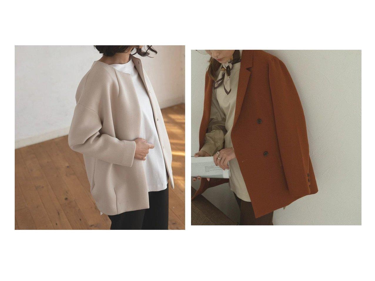 【marjour/マージュール】のボンディングショートコート NEW COLOR BONDING SHORT COAT&テーラードカラージャケット TAILORED COLOR JACKET マージュールのおすすめ!人気、トレンド・レディースファッションの通販 おすすめで人気の流行・トレンド、ファッションの通販商品 メンズファッション・キッズファッション・インテリア・家具・レディースファッション・服の通販 founy(ファニー) https://founy.com/ ファッション Fashion レディースファッション WOMEN アウター Coat Outerwear コート Coats ジャケット Jackets インナー サテン スウェット タートル ダウン トレンド プリーツ マフラー マーメイド おすすめ Recommend オレンジ ジャケット ダブル ポケット マニッシュ モノトーン |ID:crp329100000021554