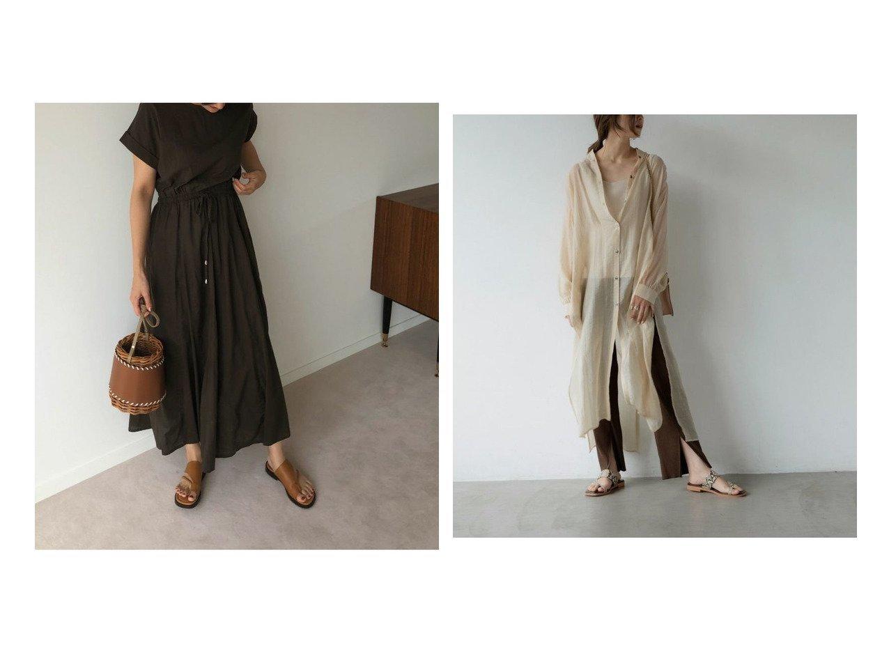 【marjour/マージュール】のmarjourコットンマキシワンピース COTTON MAXI ONEPIECE&marjourシアーシャツドレス SHEER SHIRT DRESS マージュールのおすすめ!人気、トレンド・レディースファッションの通販 おすすめで人気の流行・トレンド、ファッションの通販商品 メンズファッション・キッズファッション・インテリア・家具・レディースファッション・服の通販 founy(ファニー) https://founy.com/ ファッション Fashion レディースファッション WOMEN ワンピース Dress マキシワンピース Maxi Dress トップス カットソー Tops Tshirt シャツ/ブラウス Shirts Blouses ドレス Party Dresses シャーリング スリーブ フレンチ ルーズ おすすめ Recommend シアー スリット デニム バランス ロング |ID:crp329100000021560