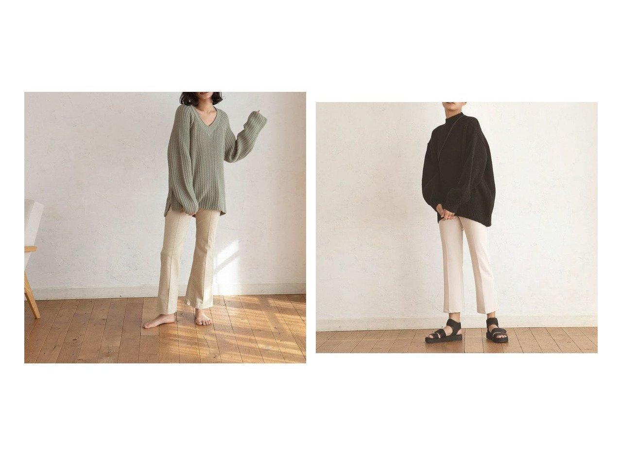 【marjour/マージュール】のネイチャーカラーニット NATURE COLOR KNIT&ウールブレンドニット WOOL BLEND KNIT マージュールのおすすめ!人気、トレンド・レディースファッションの通販 おすすめで人気の流行・トレンド、ファッションの通販商品 メンズファッション・キッズファッション・インテリア・家具・レディースファッション・服の通販 founy(ファニー) https://founy.com/ ファッション Fashion レディースファッション WOMEN トップス カットソー Tops Tshirt ニット Knit Tops おすすめ Recommend インナー カットソー キャミソール スプリング ダウン ボトム 冬 Winter 春 Spring スタンド バルーン マニッシュ  ID:crp329100000021582