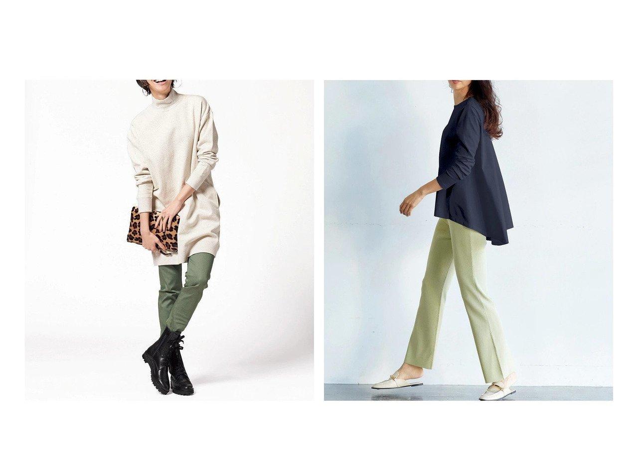 【DoCLASSE/ドゥクラッセ】のループ裏毛・ハイネックチュニック&ドゥクラッセTシャツ・ペプラムボートネック ドゥクラッセの40代、50代の方におすすめ!人気トレンド・ファッションの通販 おすすめで人気の流行・トレンド、ファッションの通販商品 メンズファッション・キッズファッション・インテリア・家具・レディースファッション・服の通販 founy(ファニー) https://founy.com/ ファッション Fashion レディースファッション WOMEN トップス カットソー Tops Tshirt シャツ/ブラウス Shirts Blouses ロング / Tシャツ T-Shirts おすすめ Recommend ショルダー スウェット チュニック トレンド トレーナー ドロップ ハイネック ループ 春 Spring インナー ダブル 定番 Standard なめらか 人気 フロント ペプラム |ID:crp329100000021617