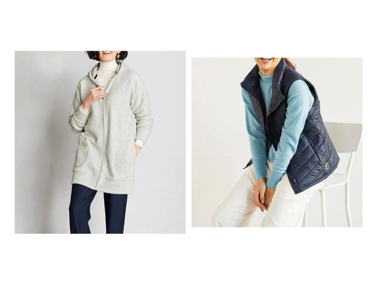 【DoCLASSE/ドゥクラッセ】のエアフリース・ロングパーカー&Doヒート・超快温ダウンベスト ドゥクラッセの40代、50代の方におすすめ!人気トレンド・ファッションの通販 おすすめで人気の流行・トレンド、ファッションの通販商品 メンズファッション・キッズファッション・インテリア・家具・レディースファッション・服の通販 founy(ファニー) https://founy.com/ ファッション Fashion レディースファッション WOMEN アウター Coat Outerwear トップス カットソー Tops Tshirt ベスト/ジレ Gilets Vests パーカ Sweats アウトドア スリム ダウン フェザー ベスト ポケット メンズ モバイル リアル なめらか パーカー ワンポイント 冬 Winter 定番 Standard |ID:crp329100000021620