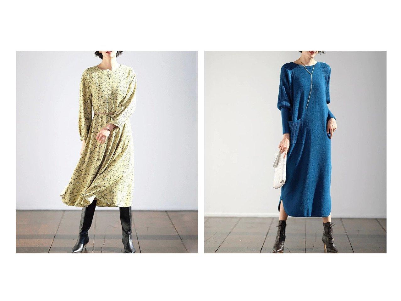【DoCLASSE/ドゥクラッセ】のベネシャン・プリントワンピース&コットン混ニット・バルーン袖ワンピ/マキシ ドゥクラッセの40代、50代の方におすすめ!人気トレンド・ファッションの通販 おすすめで人気の流行・トレンド、ファッションの通販商品 メンズファッション・キッズファッション・インテリア・家具・レディースファッション・服の通販 founy(ファニー) https://founy.com/ ファッション Fashion レディースファッション WOMEN ワンピース Dress とろみ プリント モダン 春 Spring おすすめ Recommend スタイリッシュ ストレート チャーム バルーン ポケット マキシ ミックス |ID:crp329100000021630