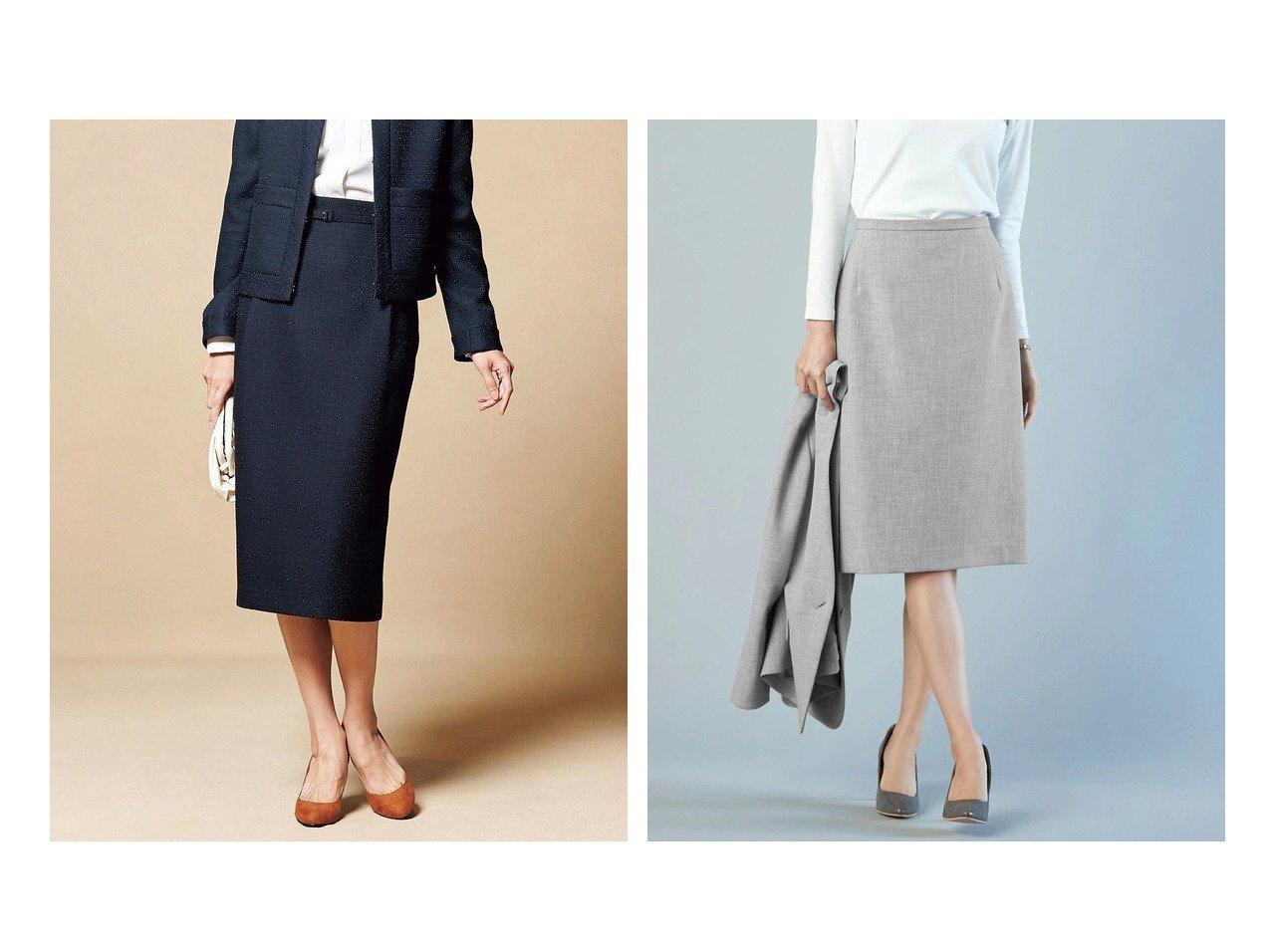 【DoCLASSE/ドゥクラッセ】のななこ織・ミディスカート&プレミアム二重織・ナロースカート ドゥクラッセの40代、50代の方におすすめ!人気トレンド・ファッションの通販 おすすめで人気の流行・トレンド、ファッションの通販商品 メンズファッション・キッズファッション・インテリア・家具・レディースファッション・服の通販 founy(ファニー) https://founy.com/ ファッション Fashion レディースファッション WOMEN スカート Skirt ツイード プリント リアル なめらか オケージョン シンプル ストレッチ フォルム プレミアム |ID:crp329100000021643