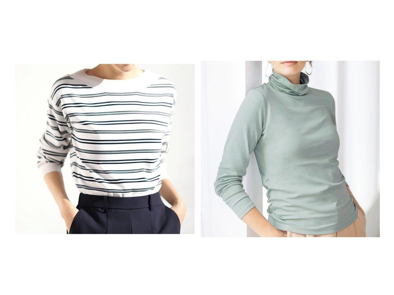 【DoCLASSE/ドゥクラッセ】の総針編み・ボートネックセーター&超長綿タートル/無地 ドゥクラッセの40代、50代の方におすすめ!人気トレンド・ファッションの通販 おすすめで人気の流行・トレンド、ファッションの通販商品 メンズファッション・キッズファッション・インテリア・家具・レディースファッション・服の通販 founy(ファニー) https://founy.com/ ファッション Fashion レディースファッション WOMEN なめらか セーター デコルテ 春 Spring シルク シンプル タートル タートルネック 無地 |ID:crp329100000021645