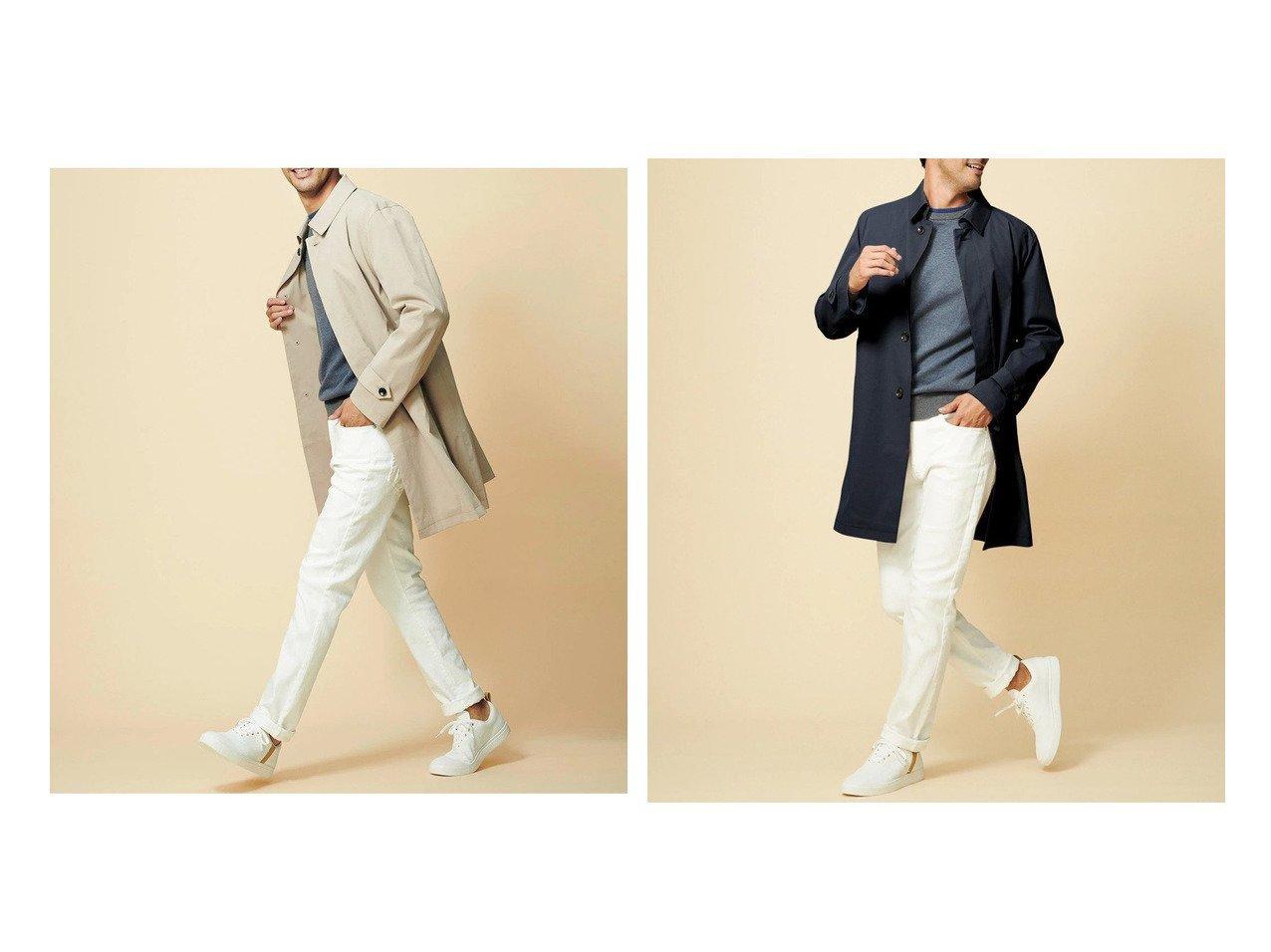 【DoCLASSE / MEN/ドゥクラッセ】のウォッシャブル ステンカラーコート 【MEN】ドゥクラッセの40代、50代の男性におすすめ!人気トレンド・メンズファッションの通販 おすすめで人気の流行・トレンド、ファッションの通販商品 メンズファッション・キッズファッション・インテリア・家具・レディースファッション・服の通販 founy(ファニー) https://founy.com/ ファッション Fashion メンズファッション MEN ウォッシャブル ストレッチ ライナー 春 Spring 洗える 軽量 |ID:crp329100000021650