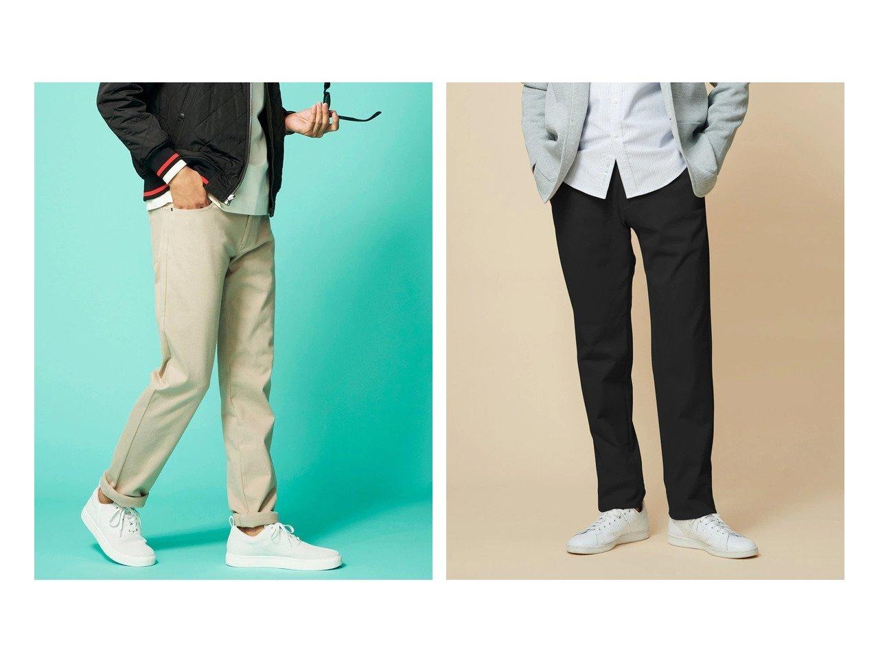 【DoCLASSE / MEN/ドゥクラッセ】の360 ストレッチ裏起毛5ポケットパンツ&360 ストレッチ裏起毛オフィサーパンツ 【MEN】ドゥクラッセの40代、50代の男性におすすめ!人気トレンド・メンズファッションの通販 おすすめで人気の流行・トレンド、ファッションの通販商品 メンズファッション・キッズファッション・インテリア・家具・レディースファッション・服の通販 founy(ファニー) https://founy.com/ ファッション Fashion メンズファッション MEN ボトムス Bottoms Men スウェット ストレッチ ポケット リラックス ワーク |ID:crp329100000021653