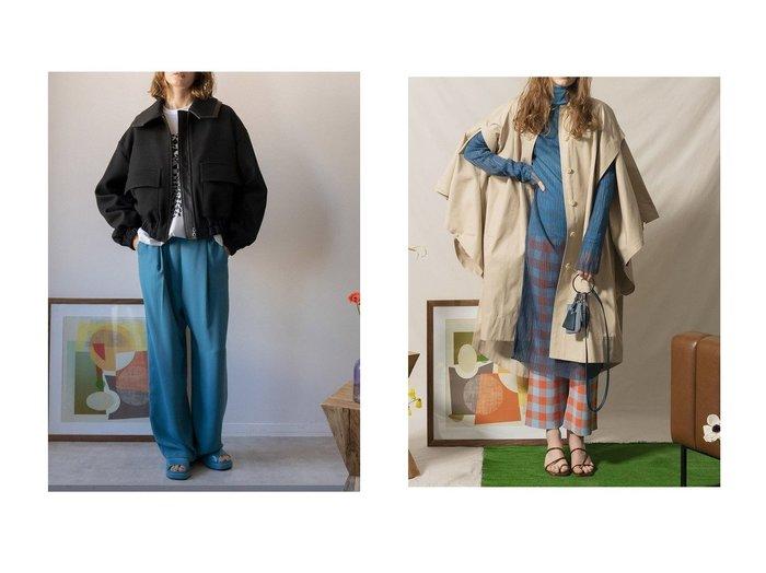 【MAISON SPECIAL/メゾンスペシャル】のビックカラーボリュームブルゾン&ポンチョコート メゾンスペシャルのおすすめ!人気、トレンド・レディースファッションの通販 おすすめファッション通販アイテム レディースファッション・服の通販 founy(ファニー) ファッション Fashion レディースファッション WOMEN アウター Coat Outerwear ジャケット Jackets ブルゾン Blouson Jackets コート Coats ポンチョ Ponchos 2021年 2021 2021 春夏 S/S SS Spring/Summer 2021 S/S 春夏 SS Spring/Summer ショート ジャケット ツイル パイピング フォルム フラップ フロント ブルゾン ポケット 春 Spring |ID:crp329100000021782