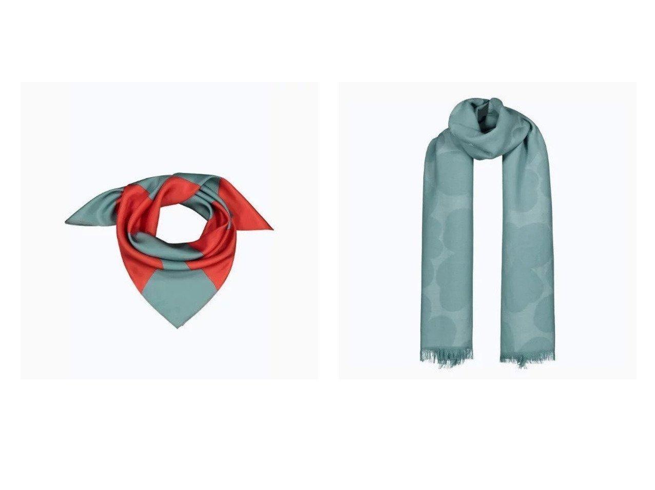 【marimekko/マリメッコ】のPiiru Jacquard Pieni Unikko スカーフ&Tyrsky Taifuuni スカーフ マリメッコのおすすめ!人気、トレンド・レディースファッションの通販 おすすめで人気の流行・トレンド、ファッションの通販商品 メンズファッション・キッズファッション・インテリア・家具・レディースファッション・服の通販 founy(ファニー) https://founy.com/ ファッション Fashion レディースファッション WOMEN ストール Scarves マフラー Mufflers スカーフ ストール マフラー モチーフ ワンポイント シルク リュクス |ID:crp329100000021890