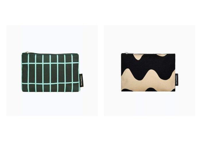【marimekko/マリメッコ】のTiiliskivi Kaika ポーチ&Lokki Keijutar ポーチ マリメッコのおすすめ!人気、トレンド・レディースファッションの通販 おすすめ人気トレンドファッション通販アイテム インテリア・キッズ・メンズ・レディースファッション・服の通販 founy(ファニー) https://founy.com/ ファッション Fashion レディースファッション WOMEN ポーチ Pouches キャンバス コンビ フォルム ポーチ モダン モチーフ おすすめ Recommend アクセサリー スクエア モバイル |ID:crp329100000021904
