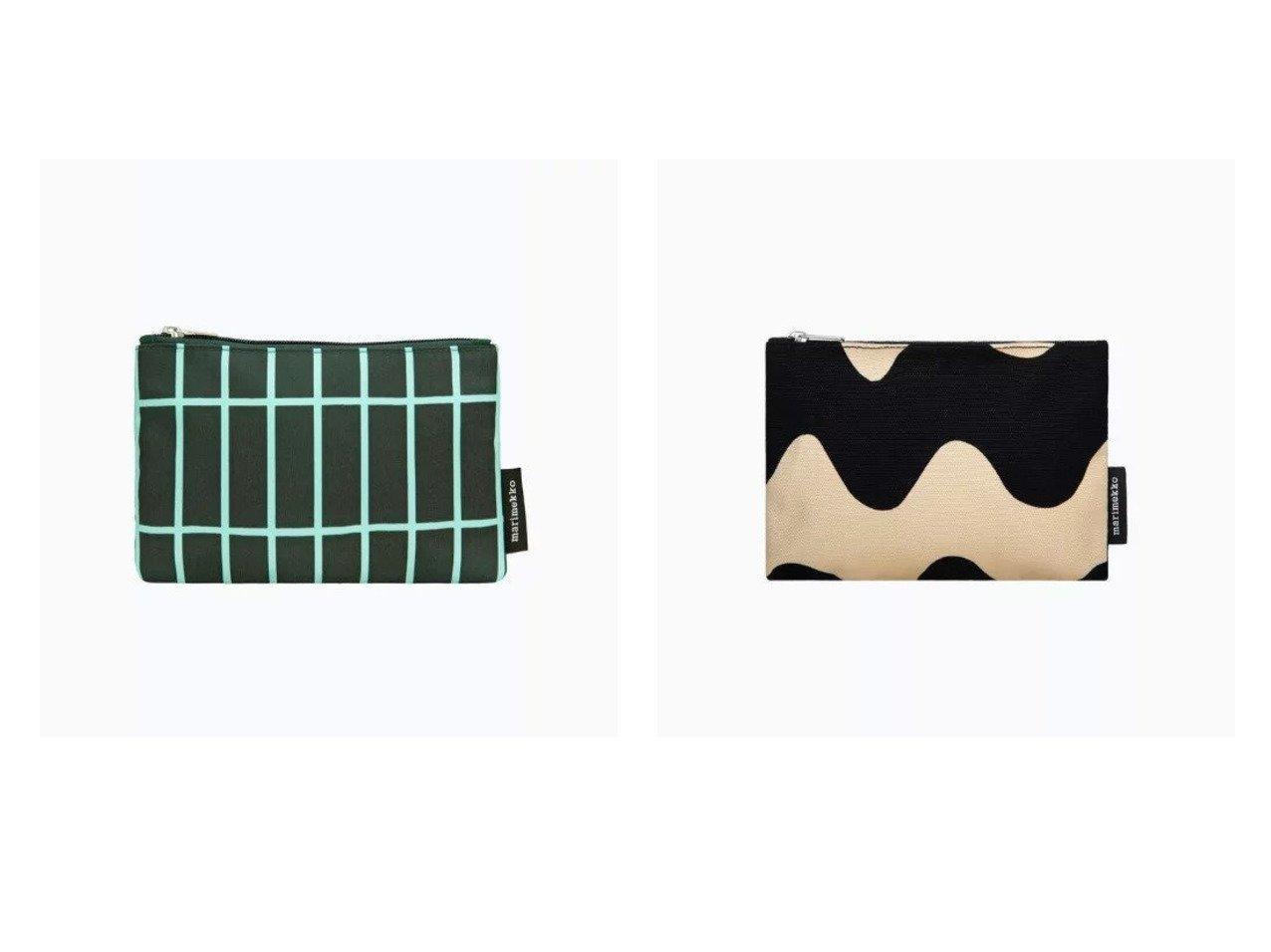 【marimekko/マリメッコ】のTiiliskivi Kaika ポーチ&Lokki Keijutar ポーチ マリメッコのおすすめ!人気、トレンド・レディースファッションの通販 おすすめで人気の流行・トレンド、ファッションの通販商品 メンズファッション・キッズファッション・インテリア・家具・レディースファッション・服の通販 founy(ファニー) https://founy.com/ ファッション Fashion レディースファッション WOMEN ポーチ Pouches キャンバス コンビ フォルム ポーチ モダン モチーフ おすすめ Recommend アクセサリー スクエア モバイル |ID:crp329100000021904