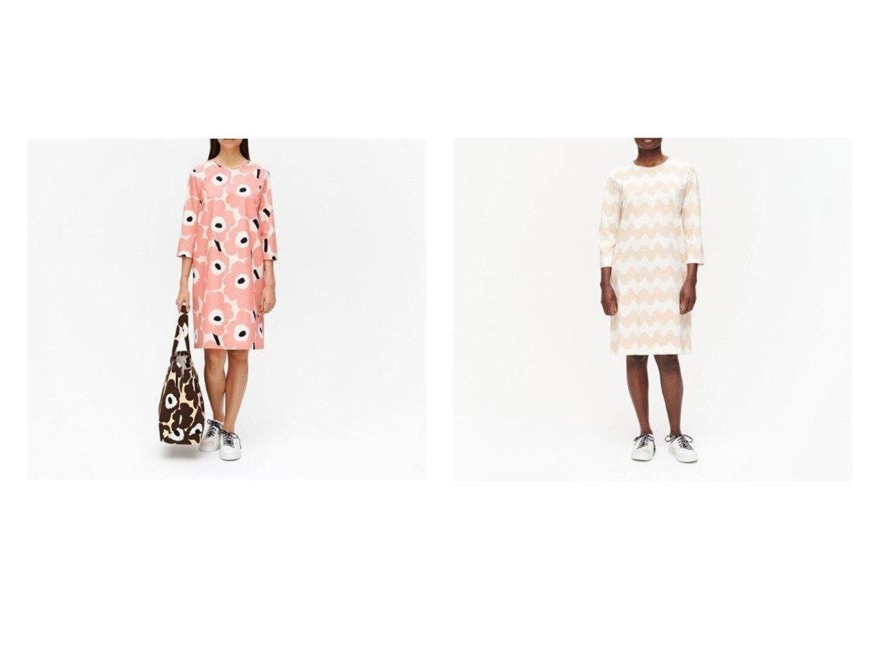 【marimekko/マリメッコ】のLokki Riippumaton ワンピース&Havaittu Pieni Unikko ワンピース マリメッコのおすすめ!人気、トレンド・レディースファッションの通販 おすすめで人気の流行・トレンド、ファッションの通販商品 メンズファッション・キッズファッション・インテリア・家具・レディースファッション・服の通販 founy(ファニー) https://founy.com/ ファッション Fashion レディースファッション WOMEN ワンピース Dress シンプル プリント モチーフ リボン ワンポイント |ID:crp329100000021905