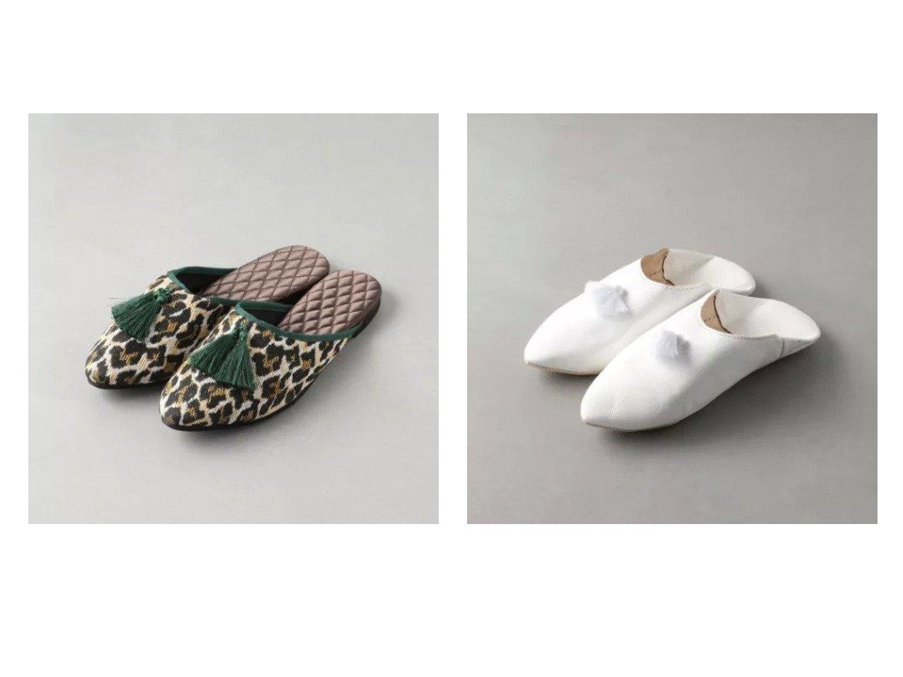 【Odette e Odile/オデット エ オディール】のOFD タッセルルームシューズ FLT10&【別注】Fatima Morocco バブーシュP オデット エ オディールのおすすめ!人気、トレンド・レディースファッションの通販 おすすめで人気の流行・トレンド、ファッションの通販商品 メンズファッション・キッズファッション・インテリア・家具・レディースファッション・服の通販 founy(ファニー) https://founy.com/ シューズ スタイリッシュ タッセル 別注 お家時間・ステイホーム Home time,Stay home インソール リラックス  ID:crp329100000021934