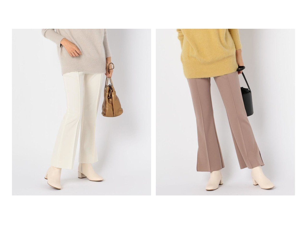 【NOLLEY'S/ノーリーズ】のストレッチポンチフレアパンツ ノーリーズのおすすめ!人気、トレンド・レディースファッションの通販 おすすめで人気の流行・トレンド、ファッションの通販商品 メンズファッション・キッズファッション・インテリア・家具・レディースファッション・服の通販 founy(ファニー) https://founy.com/ ファッション Fashion レディースファッション WOMEN パンツ Pants スタイリッシュ ストレッチ スリット フィット フレア 再入荷 Restock/Back in Stock/Re Arrival  ID:crp329100000021967