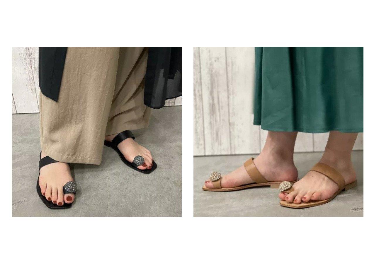 【NOLLEY'S/ノーリーズ】の【 ファビオルスコーニ】ビジューフィンガーフックサンダル ノーリーズのおすすめ!人気、トレンド・レディースファッションの通販 おすすめで人気の流行・トレンド、ファッションの通販商品 メンズファッション・キッズファッション・インテリア・家具・レディースファッション・服の通販 founy(ファニー) https://founy.com/ ファッション Fashion レディースファッション WOMEN イタリア サンダル シューズ スクエア ビジュー フェミニン フォルム ラップ  ID:crp329100000021978