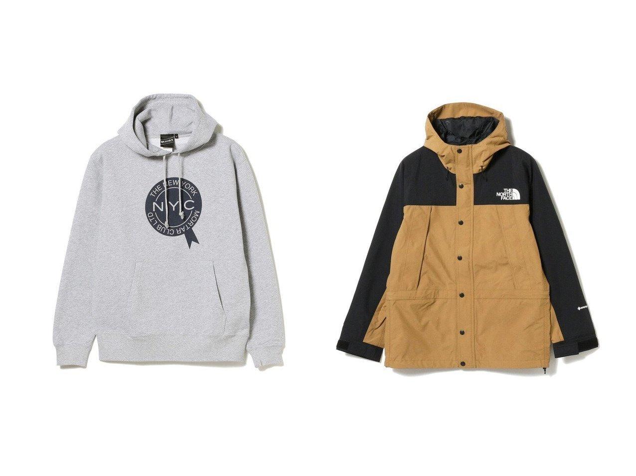 【BEAMS / MEN/ビームス】の【SPECIAL PRICE】 NYC パーカ&Mountain Light Jacket 【MEN】おすすめ!人気トレンド・男性、メンズファッションの通販  おすすめで人気の流行・トレンド、ファッションの通販商品 メンズファッション・キッズファッション・インテリア・家具・レディースファッション・服の通販 founy(ファニー) https://founy.com/ ファッション Fashion メンズファッション MEN トップス カットソー Tops Tshirt Men パーカ Sweats シンプル パーカー フロント アウトドア インナー ジャケット ダブル フラップ ブルゾン 定番 Standard |ID:crp329100000021995