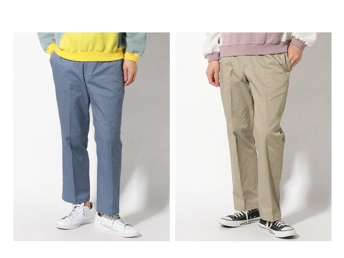 【JOURNAL STANDARD relume / MEN/ジャーナルスタンダード レリューム】のSan Francisco Skate Pants 【MEN】おすすめ!人気トレンド・男性、メンズファッションの通販  おすすめ人気トレンドファッション通販アイテム 人気、トレンドファッション・服の通販 founy(ファニー) ファッション Fashion メンズファッション MEN ボトムス Bottoms Men ジーンズ ストレッチ ストレート スニーカー センター ベーシック レース ワーク |ID:crp329100000022007