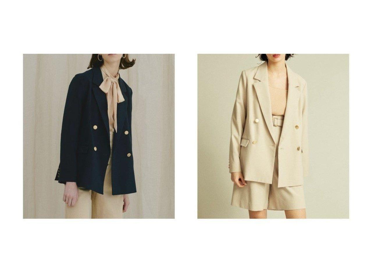 【Lily Brown/リリーブラウン】のツイルダブルジャケット リリーブラウンのおすすめ!人気、トレンド・レディースファッションの通販 おすすめで人気の流行・トレンド、ファッションの通販商品 メンズファッション・キッズファッション・インテリア・家具・レディースファッション・服の通販 founy(ファニー) https://founy.com/ ファッション Fashion レディースファッション WOMEN アウター Coat Outerwear ジャケット Jackets テーラードジャケット Tailored Jackets 春 Spring ショート ジャケット スタンダード ストライプ スマート セットアップ ダブル 定番 Standard ベーシック ラベンダー ロング 再入荷 Restock/Back in Stock/Re Arrival S/S 春夏 SS Spring/Summer おすすめ Recommend |ID:crp329100000022013