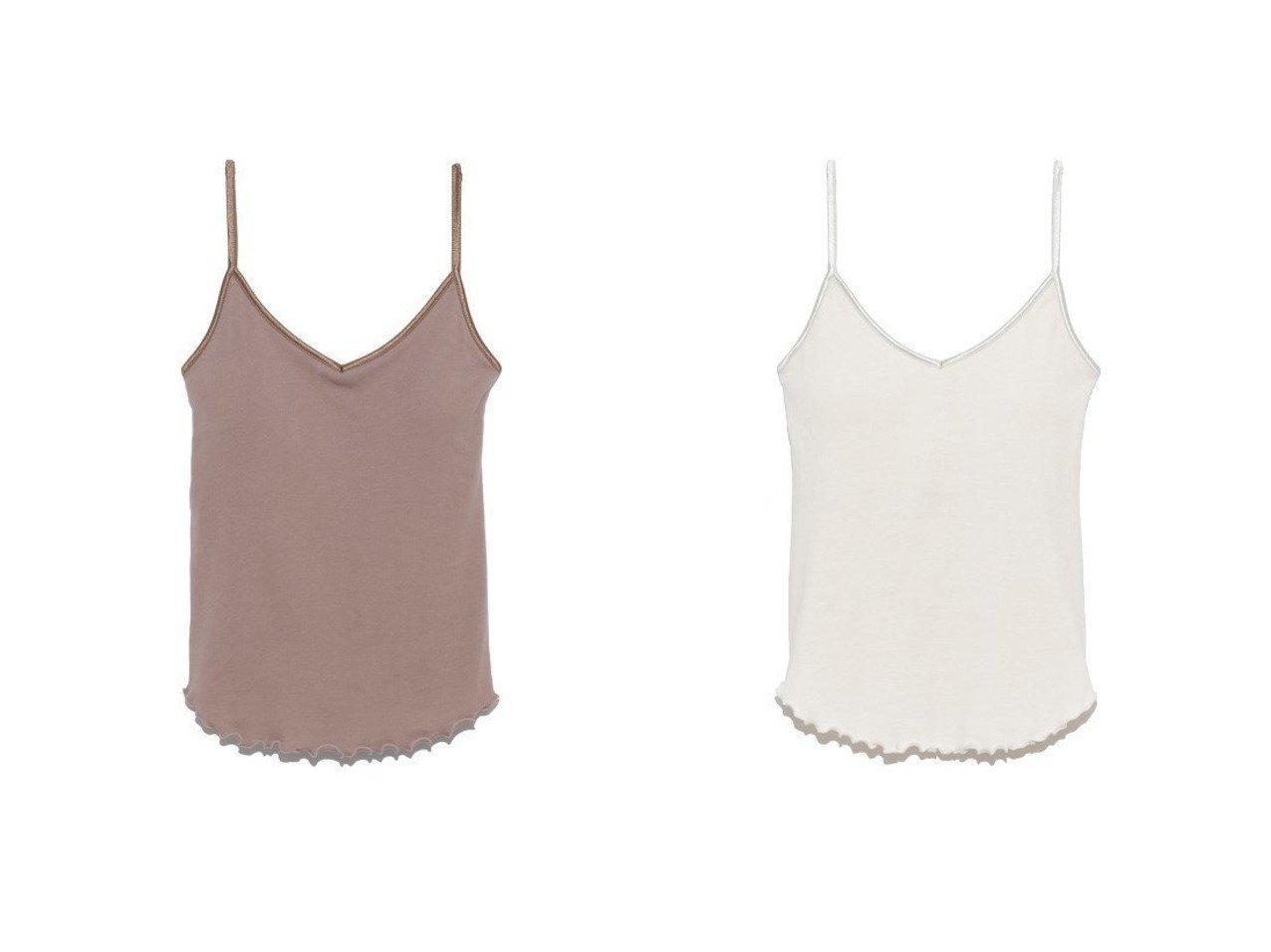 【Lily Brown/リリーブラウン】のオーガニックコットンキャミソール リリーブラウンのおすすめ!人気、トレンド・レディースファッションの通販 おすすめで人気の流行・トレンド、ファッションの通販商品 メンズファッション・キッズファッション・インテリア・家具・レディースファッション・服の通販 founy(ファニー) https://founy.com/ ファッション Fashion レディースファッション WOMEN トップス カットソー Tops Tshirt キャミソール / ノースリーブ No Sleeves キャミソール スマート フィット リラックス NEW・新作・新着・新入荷 New Arrivals |ID:crp329100000022014