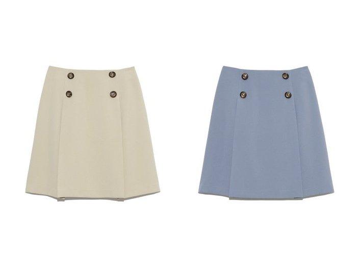 【Lily Brown/リリーブラウン】の釦デザインタックミニスカート リリーブラウンのおすすめ!人気、トレンド・レディースファッションの通販 おすすめファッション通販アイテム レディースファッション・服の通販 founy(ファニー) ファッション Fashion レディースファッション WOMEN スカート Skirt ミニスカート Mini Skirts シンプル フレア フロント ミニスカート  ID:crp329100000022026