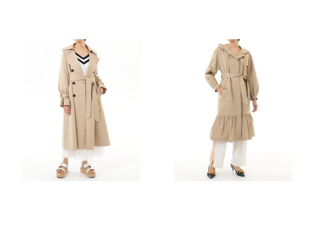 【GRACE CONTINENTAL/グレース コンチネンタル】のドレープトレンチコート&グログランフードコート グレース コンチネンタルのおすすめ!人気、トレンド・レディースファッションの通販 おすすめで人気の流行・トレンド、ファッションの通販商品 メンズファッション・キッズファッション・インテリア・家具・レディースファッション・服の通販 founy(ファニー) https://founy.com/ ファッション Fashion レディースファッション WOMEN アウター Coat Outerwear コート Coats ジャケット Jackets トレンチコート Trench Coats ジャケット ティアード パターン フェミニン ギャザー ドレープ ロング 定番 Standard 春 Spring |ID:crp329100000022031