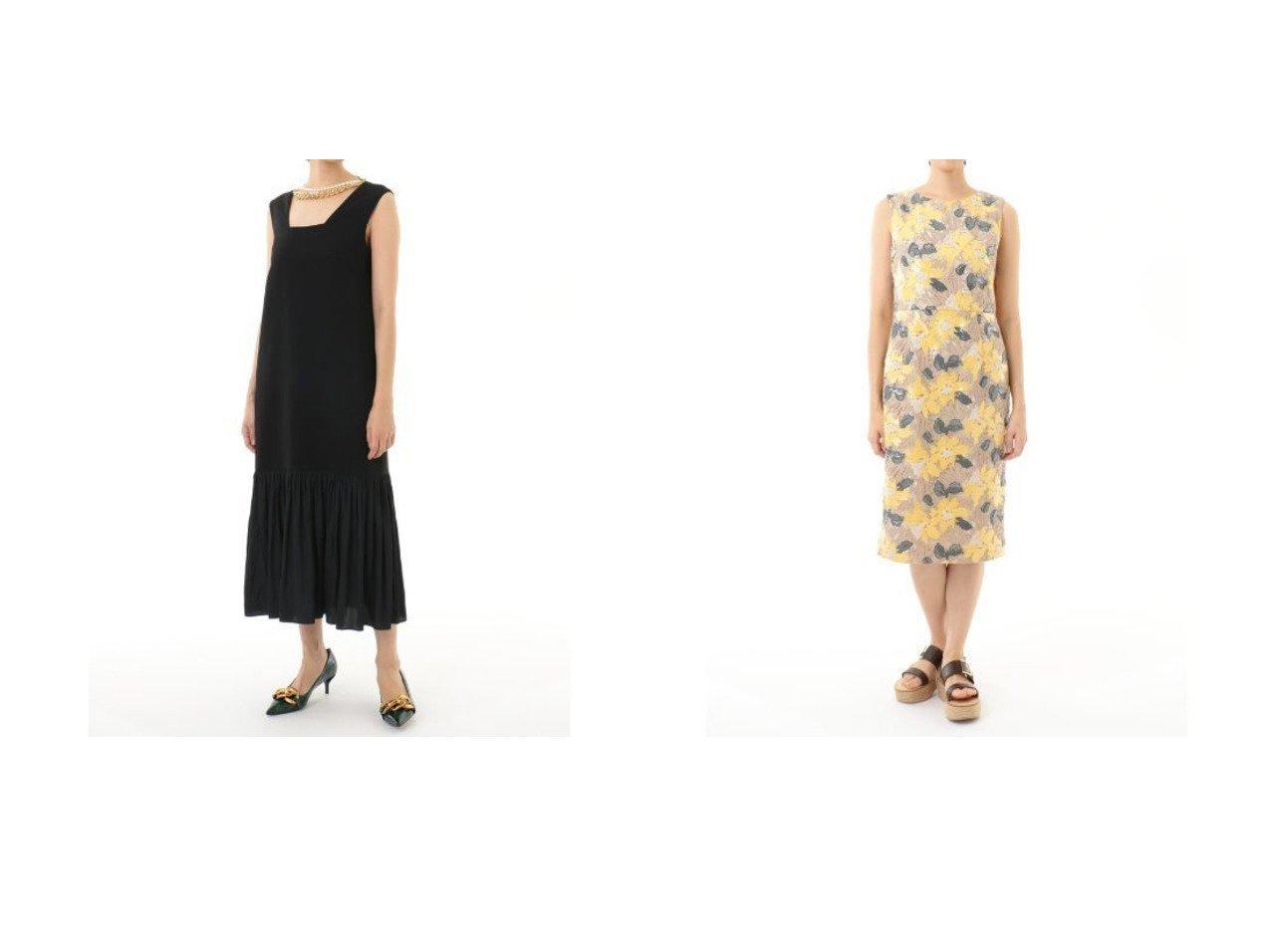 【GRACE CONTINENTAL/グレース コンチネンタル】のネックレス付ティアードドレス&フラワースパンケミカルドレス グレース コンチネンタルのおすすめ!人気、トレンド・レディースファッションの通販 おすすめで人気の流行・トレンド、ファッションの通販商品 メンズファッション・キッズファッション・インテリア・家具・レディースファッション・服の通販 founy(ファニー) https://founy.com/ ファッション Fashion レディースファッション WOMEN ワンピース Dress ドレス Party Dresses ジュエリー Jewelry ネックレス Necklaces ケミカル コンシャス スパンコール ドレス フォーマル レース ギャザー シンプル チェーン ティアード ネックレス パール リボン ロング |ID:crp329100000022034