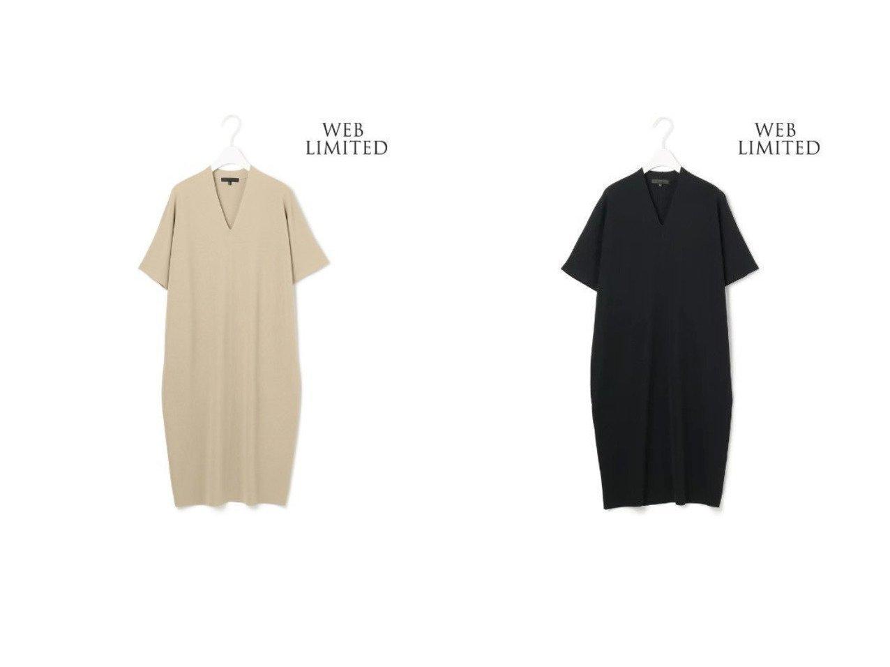 【iCB/アイシービー】の【WEB限定】 Synthetic FullNeedle ワンピース iCBのおすすめ!人気、トレンド・レディースファッションの通販  おすすめで人気の流行・トレンド、ファッションの通販商品 メンズファッション・キッズファッション・インテリア・家具・レディースファッション・服の通販 founy(ファニー) https://founy.com/ ファッション Fashion レディースファッション WOMEN ワンピース Dress ニットワンピース Knit Dresses 2021年 2021 2021 春夏 S/S SS Spring/Summer 2021 S/S 春夏 SS Spring/Summer シンプル ジャケット ストレッチ ベーシック リラックス 定番 Standard 春 Spring |ID:crp329100000022115