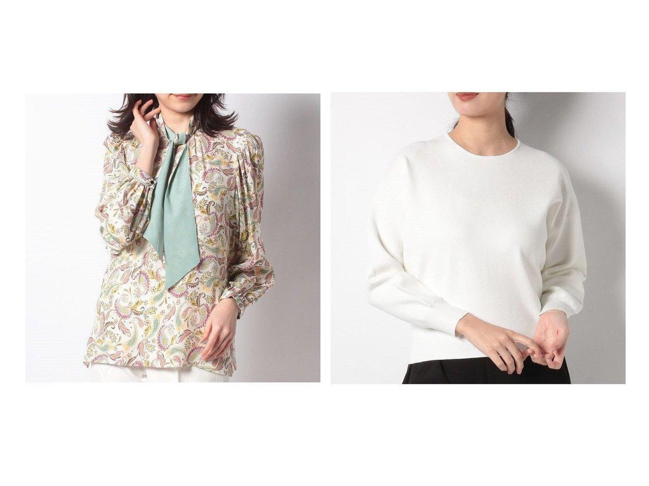 【ANAYI/アナイ】のミラノリブクルーネックコクーンプルオーバー&ドローイングプリントパフスリーブブラウス アナイのおすすめ!人気、トレンド・レディースファッションの通販  おすすめで人気の流行・トレンド、ファッションの通販商品 メンズファッション・キッズファッション・インテリア・家具・レディースファッション・服の通販 founy(ファニー) https://founy.com/ ファッション Fashion レディースファッション WOMEN トップス カットソー Tops Tshirt シャツ/ブラウス Shirts Blouses ロング / Tシャツ T-Shirts プルオーバー Pullover カットソー Cut and Sewn NEW・新作・新着・新入荷 New Arrivals おすすめ Recommend ジャケット パープル フラワー プリント ペイズリー ボトム リバーシブル シンプル スカーフ ネックレス バランス ミラノリブ 長袖 |ID:crp329100000022130