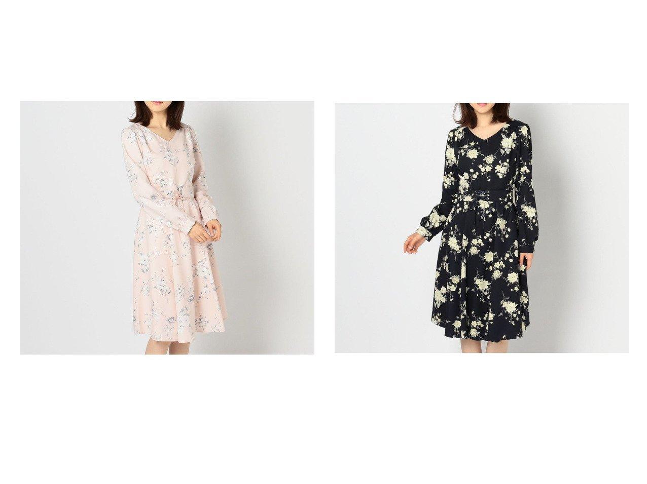 【MISCH MASCH/ミッシュマッシュ】のベルト付き花柄ワンピース ミッシュマッシュのおすすめ!人気、トレンド・レディースファッションの通販 おすすめで人気の流行・トレンド、ファッションの通販商品 メンズファッション・キッズファッション・インテリア・家具・レディースファッション・服の通販 founy(ファニー) https://founy.com/ ファッション Fashion レディースファッション WOMEN ワンピース Dress ベルト Belts 2021年 2021 2021-2022 秋冬 A/W AW Autumn/Winter / FW Fall-Winter 2021-2022 A/W 秋冬 AW Autumn/Winter / FW Fall-Winter デコルテ フィット フェミニン フレア |ID:crp329100000022158