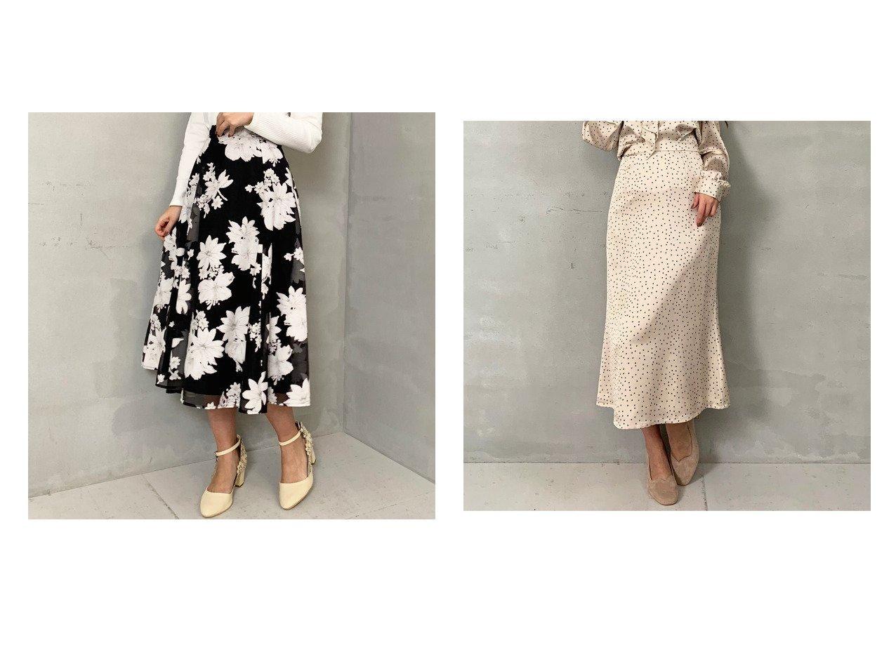 【MISCH MASCH/ミッシュマッシュ】のドット柄ナロースカート&オパール花柄スカート ミッシュマッシュのおすすめ!人気、トレンド・レディースファッションの通販 おすすめで人気の流行・トレンド、ファッションの通販商品 メンズファッション・キッズファッション・インテリア・家具・レディースファッション・服の通販 founy(ファニー) https://founy.com/ ファッション Fashion レディースファッション WOMEN スカート Skirt 2021年 2021 2021-2022 秋冬 A/W AW Autumn/Winter / FW Fall-Winter 2021-2022 A/W 秋冬 AW Autumn/Winter / FW Fall-Winter エレガント プリント ドット ロング |ID:crp329100000022160
