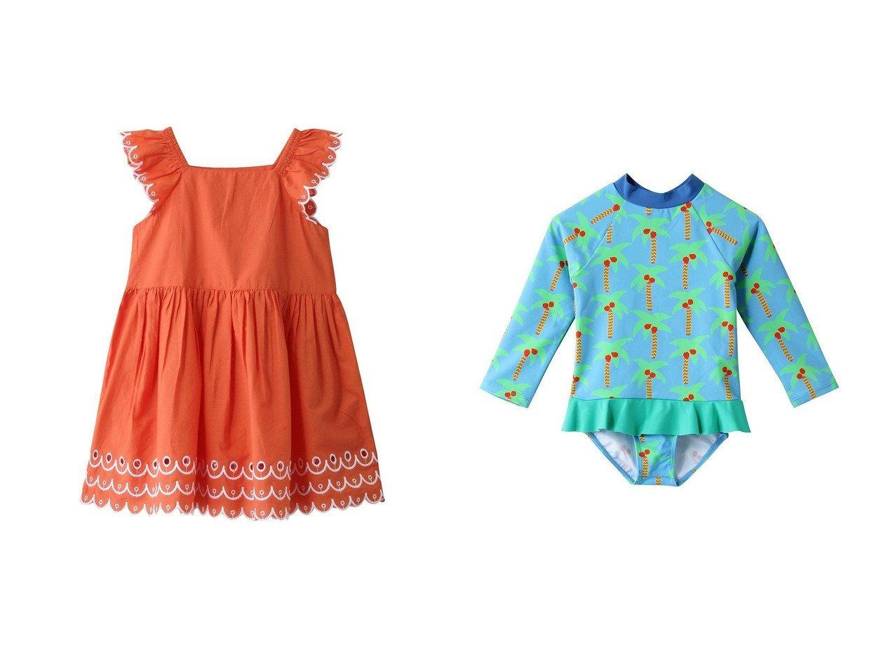 【STELLA McCARTNEY / KIDS/ステラ マッカートニー】の【KIDS】スカラップドレス&【KIDS】パームツリースイムセット 【KIDS】子供服のおすすめ!人気トレンド・キッズファッションの通販 おすすめで人気の流行・トレンド、ファッションの通販商品 メンズファッション・キッズファッション・インテリア・家具・レディースファッション・服の通販 founy(ファニー) https://founy.com/ ファッション Fashion キッズファッション KIDS ワンピース Dress Kids 2021年 2021 2021 春夏 S/S SS Spring/Summer 2021 S/S 春夏 SS Spring/Summer おすすめ Recommend スカラップ ドレス ボトム 春 Spring |ID:crp329100000022255