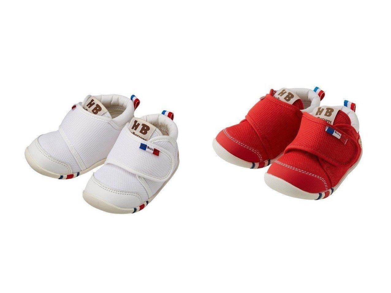 【MIKI HOUSE HOT BISCUITS / KIDS/ミキハウスホットビスケッツ】の【HOTBISCUITS】ベビーシューズ 【KIDS】子供服のおすすめ!人気トレンド・キッズファッションの通販  おすすめで人気の流行・トレンド、ファッションの通販商品 メンズファッション・キッズファッション・インテリア・家具・レディースファッション・服の通販 founy(ファニー) https://founy.com/ ファッション Fashion キッズファッション KIDS カラフル シューズ シンプル ベビー メッシュ 送料無料 Free Shipping |ID:crp329100000022294