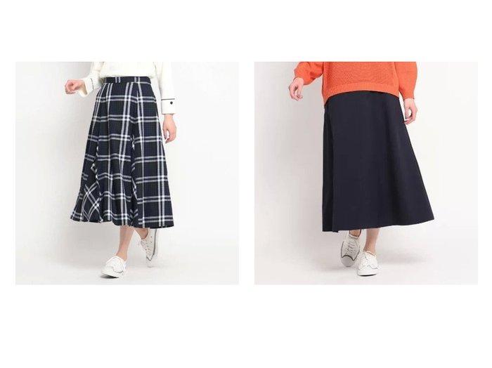 【Dessin/デッサン】のチェックスプリングAラインスカート&ファンマーツイルAラインスカート デッサンのおすすめ!人気、トレンド・レディースファッションの通販 おすすめファッション通販アイテム インテリア・キッズ・メンズ・レディースファッション・服の通販 founy(ファニー) https://founy.com/ ファッション Fashion レディースファッション WOMEN スカート Skirt Aライン/フレアスカート Flared A-Line Skirts スプリング チェック フレア ポケット ミモレ シンプル ストレッチ ツイル フィット フロント  ID:crp329100000022335