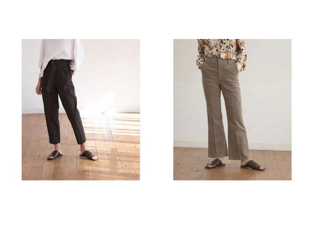 【marjour/マージュール】のWASHER BELT PANTS&STRETCH CORDED PANTS パンツのおすすめ!人気、トレンド・レディースファッションの通販 おすすめで人気の流行・トレンド、ファッションの通販商品 メンズファッション・キッズファッション・インテリア・家具・レディースファッション・服の通販 founy(ファニー) https://founy.com/ ファッション Fashion レディースファッション WOMEN パンツ Pants ダウン ワッシャー コーデュロイ サンダル ストレッチ センター フィット フレア ルーズ ワイド 冬 Winter 春 Spring |ID:crp329100000022374