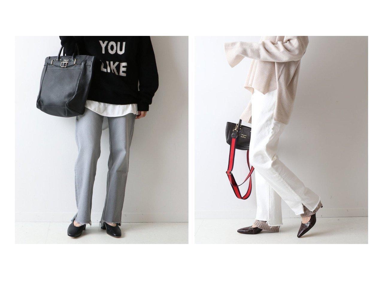 【FRAMeWORK/フレームワーク】の裾スリットDENIM パンツのおすすめ!人気、トレンド・レディースファッションの通販 おすすめで人気の流行・トレンド、ファッションの通販商品 メンズファッション・キッズファッション・インテリア・家具・レディースファッション・服の通販 founy(ファニー) https://founy.com/ ファッション Fashion レディースファッション WOMEN パンツ Pants デニムパンツ Denim Pants 2021年 2021 2021 春夏 S/S SS Spring/Summer 2021 S/S 春夏 SS Spring/Summer ストレッチ スリット デニム ルーズ |ID:crp329100000022386