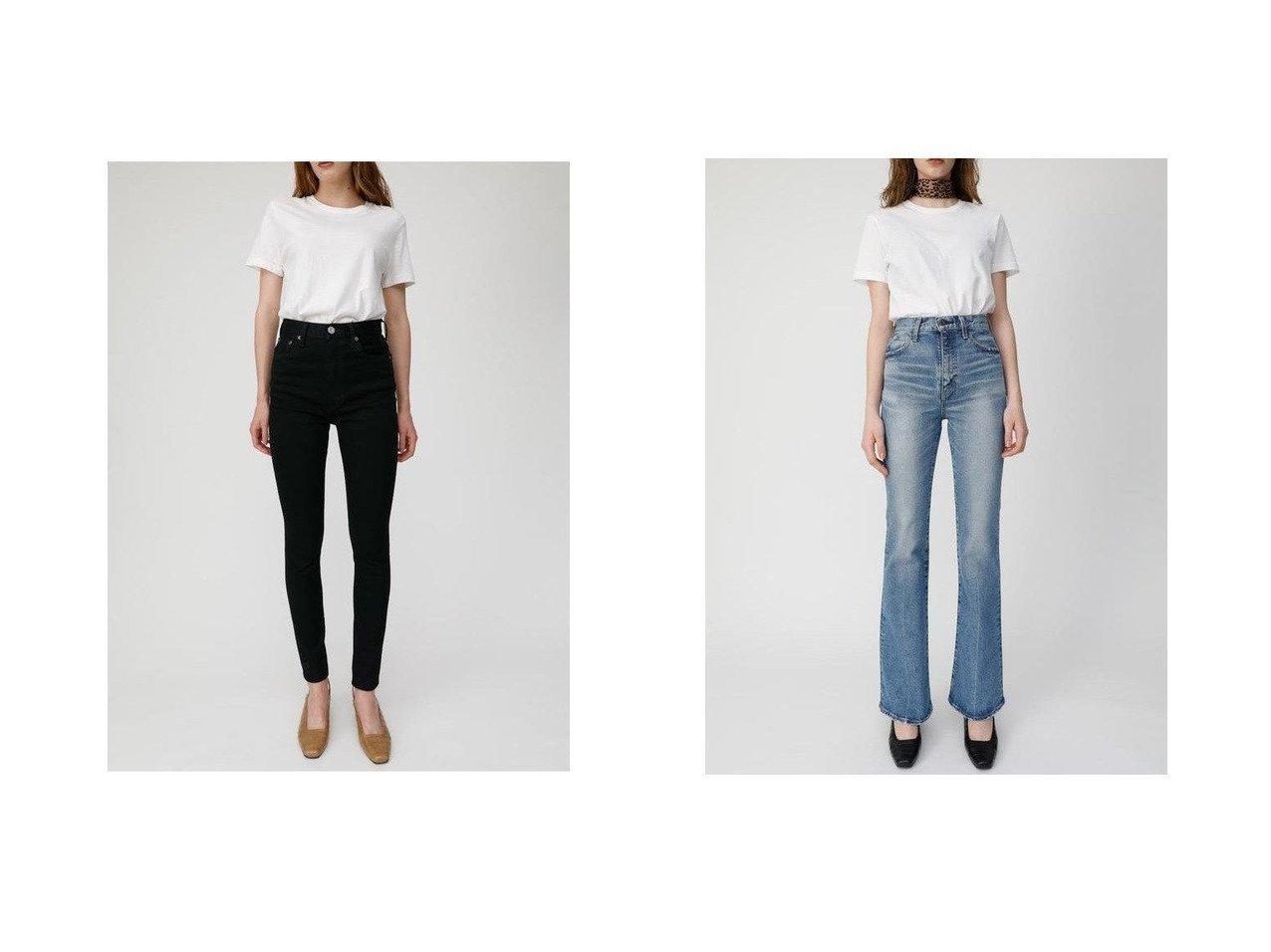 【moussy/マウジー】のMVS FLARE(L)&HW Rebirth BLACK SKINNY パンツのおすすめ!人気、トレンド・レディースファッションの通販 おすすめで人気の流行・トレンド、ファッションの通販商品 メンズファッション・キッズファッション・インテリア・家具・レディースファッション・服の通販 founy(ファニー) https://founy.com/ ファッション Fashion レディースファッション WOMEN パンツ Pants デニムパンツ Denim Pants シンプル スキニー ストレッチ デニム パフォーマンス 再入荷 Restock/Back in Stock/Re Arrival コンパクト ジップアップ ダメージ フレア ポケット ロング  ID:crp329100000022430