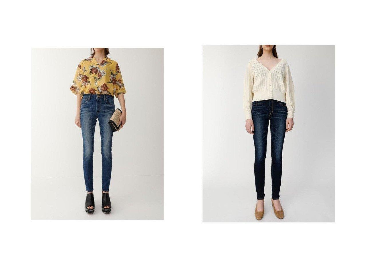 【moussy/マウジー】のWF Rebirth embroidery SKINNY パンツのおすすめ!人気、トレンド・レディースファッションの通販 おすすめで人気の流行・トレンド、ファッションの通販商品 メンズファッション・キッズファッション・インテリア・家具・レディースファッション・服の通販 founy(ファニー) https://founy.com/ ファッション Fashion レディースファッション WOMEN パンツ Pants デニムパンツ Denim Pants シンプル スキニー ストレッチ デニム パフォーマンス 再入荷 Restock/Back in Stock/Re Arrival  ID:crp329100000022436