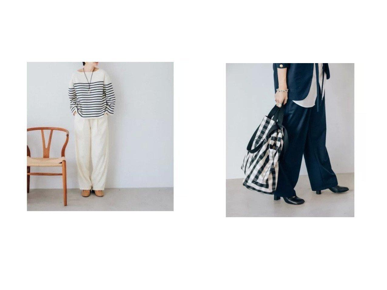 【Oblekt/オブレクト】のウエストギャザーイージーパンツ パンツのおすすめ!人気、トレンド・レディースファッションの通販 おすすめで人気の流行・トレンド、ファッションの通販商品 メンズファッション・キッズファッション・インテリア・家具・レディースファッション・服の通販 founy(ファニー) https://founy.com/ ファッション Fashion レディースファッション WOMEN パンツ Pants ジャケット ストレート |ID:crp329100000022459