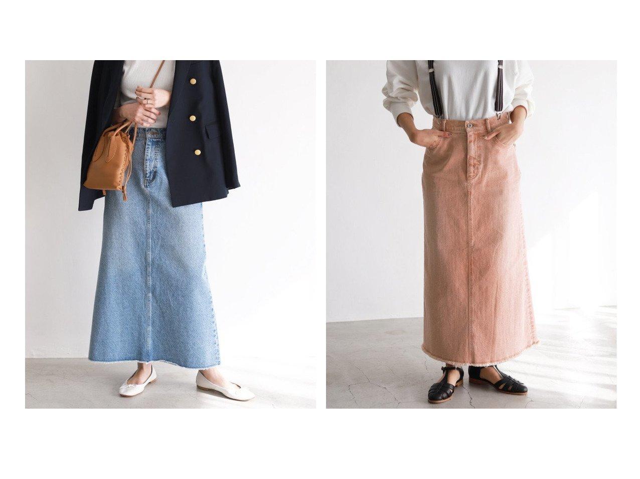 【SLOBE IENA/スローブ イエナ】のLE DENIM×MARITAS マーメイドスカート&LE DENIM×MARITAS カラーマーメイドスカート スカートのおすすめ!人気、トレンド・レディースファッションの通販 おすすめで人気の流行・トレンド、ファッションの通販商品 メンズファッション・キッズファッション・インテリア・家具・レディースファッション・服の通販 founy(ファニー) https://founy.com/ ファッション Fashion レディースファッション WOMEN スカート Skirt 春 Spring カットオフ コラボ デニム 定番 Standard フェミニン マーメイド A/W 秋冬 AW Autumn/Winter / FW Fall-Winter 2020年 2020 再入荷 Restock/Back in Stock/Re Arrival 2020-2021 秋冬 A/W AW Autumn/Winter / FW Fall-Winter 2020-2021 おすすめ Recommend  ID:crp329100000022460