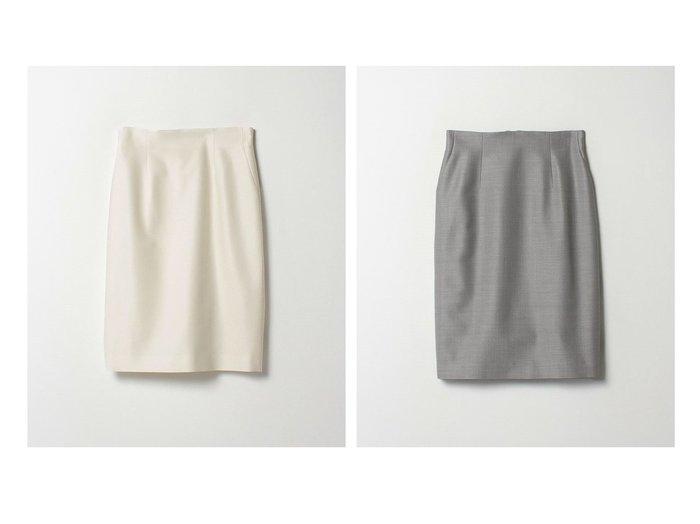 【LANVIN COLLECTION/ランバンコレクション】の毛×絹ミディタイトスカート スカートのおすすめ!人気、トレンド・レディースファッションの通販 おすすめファッション通販アイテム レディースファッション・服の通販 founy(ファニー) ファッション Fashion レディースファッション WOMEN スカート Skirt おすすめ Recommend シェイプ タイトスカート |ID:crp329100000022477